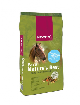 Pavo Nature's Best 15kg Sackabbildung