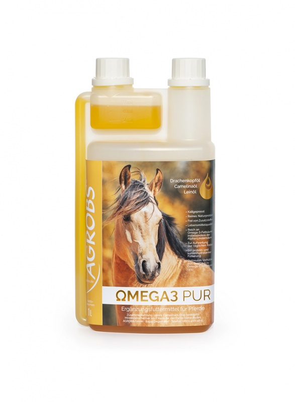 Agrobs Omega3 Pur 1 l Flasche